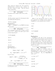 Exam #2-solutions