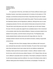hist state university of new york college at oneonta course hero 2 pages john adams and thomas jefferson essay
