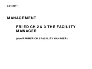 SMGT 4330-6337 Farmer CH 5 Fried Ch 3 Management %26 Contracting Notes Spring 2011