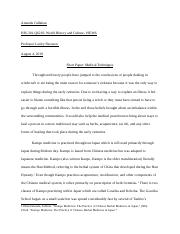 Short Paper Medical Techniques History 301.docx