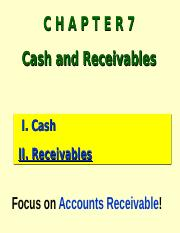MGA301 Ch7-Lecture Receivables.ppt