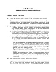 Qns&Problms-ch10_CapitalBudgeting