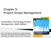 07-Chapter 05-Scope Management