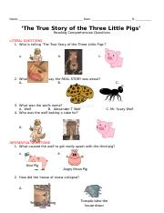 the true story of the three little pigs ELL Friendly.docx