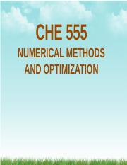 Week01_Introduction to Numerical