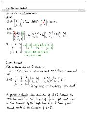 12.4 The Cross Product