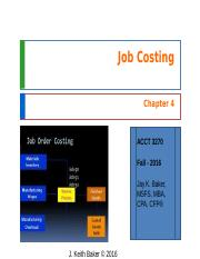 Chapter 4 - Cost Accounting - JKBaker.ppt