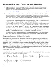 3.1 Entropy and Free Energy