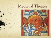Theater in the Middle Ages
