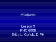 L2_3 PPT  6000_measures_fall 2013