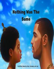 Nothing was the same project