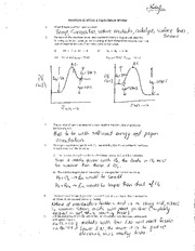 Chem 3202 Reaction Kinetics and Equilibrium Review Notes