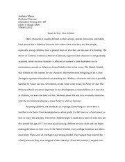 Rutgers university application essay