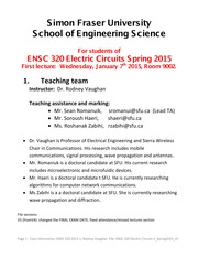 ENSC 320 Electric Circuits II_Spring2015_v5