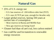 Lecture 17 - Energy Resources