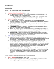 Cunningham F06 Trusts & Estates - Outline