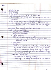 introduction and chapter 1 reading notes