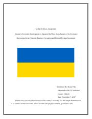 Global Scholars Assignment - Ukraine Exemplar.docx
