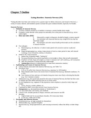 an analysis of the topic of bulimia as a serious psychological eating disorder In a nationally representative survey, 95% of respondents with bulimia nervosa, 79% with binge eating disorder, and 56% with anorexia nervosa met criteria for at least one other psychiatric disorder 64% of those with bulimia nervosa met criteria for three or more co-occurring psychiatric disorders.