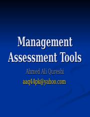 Organization Assessment Tools.ppt