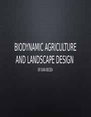 Biodynamic agriculture and landscape design (1).pptx