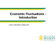 Economic Fluctuations - Introduction student