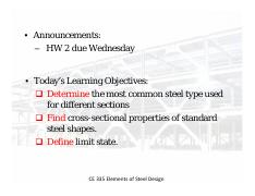 06_AISC common steel and sections