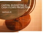 FM_Lecture 6_Capital Budgeting and Cash Flows_SUmmer_2013