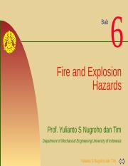 K3L Bab#6 Fire and Explosion Hazards.pptx