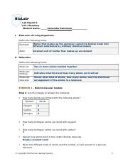 biolab 1208 lab report Biolab 1208 lab report - chemistry essay example biol 1208 lab report cover sheet i certify that the writing in this assignment is my individual work and is my sole intellectual property - biolab 1208 lab report introduction.