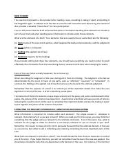 Elements of a Case Brief