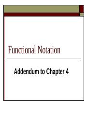 Functional Notation.pps