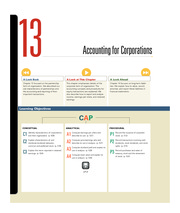 Chapter 13 Accounting for Corporations