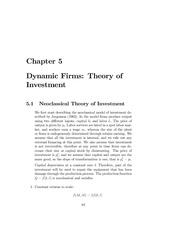 Lecture_Notes_5___Dynamic_Firms_and_Theory_of_Investment