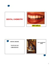 dental chemistry