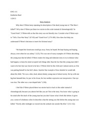 food inc response essay eng response to documentary  most popular documents for eng 111