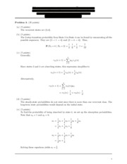 Solutions for exam 3