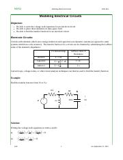 08 Electrical Circuits