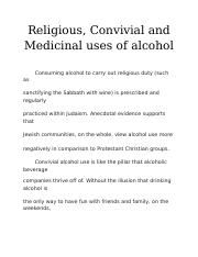 uses of alcohol.docx