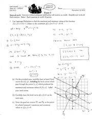 MATH 5c Fall 2012 Exam 3 Solutions