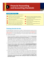 Chapter 1 Financial Accounting and Accounting Standards