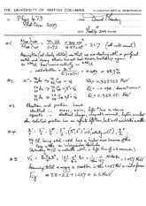 PHYS 473 2009 Midterm Solutions