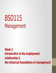 Lecture 2_Historical Foundations of Management(1)