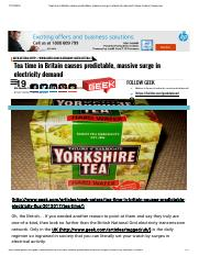 Tea time in Britain causes predictable, massive surge in electricity demand _ Geek-Cetera _ Geek