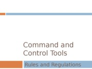 Command and Control Tools