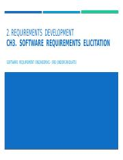 SRE - Ch.03 - Requirements Elicitation