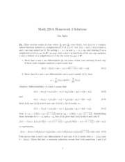Math 220A Homework 3 Solutions