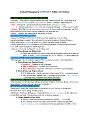 CulturalGeographyCH.7Notes