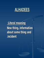 isl. lecture#11Ahadees