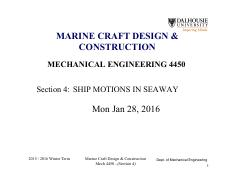 Section 4 - Ship Motions in a Seaway_1 slide per page.pdf